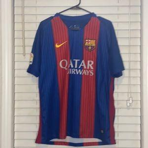 Lionel Messi Barcelona Nike Jersey 2016